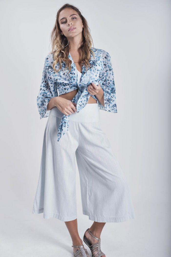 CALÇA PANTACOURT PANTALONA – azul claro