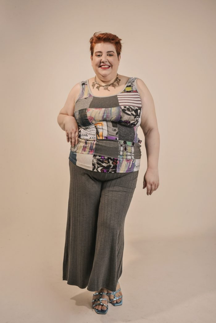 REGATA PLUS SIZE PATCHWORK BÁSICA